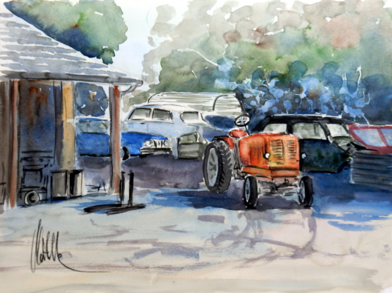 Garage de Saint-Yzans