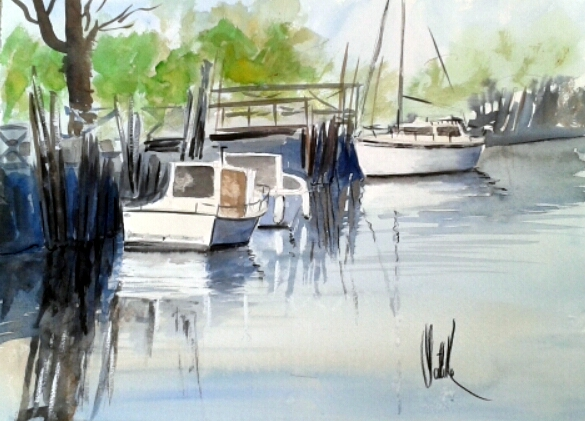 Port de Saint-Vivien 2